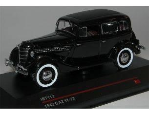 IST Models IST112 GAZ 11-73 1942 BLACK 1:43 Modellino
