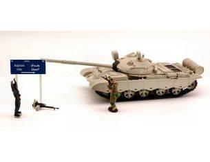Modellino WTT06A IRAQI T 62 TANK '03 SET 1:48 Modellino