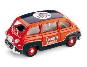 Brumm BM0286 FIAT 600 MULTIPLA 1960 RAMAZZOTTI 1:43 Modellino