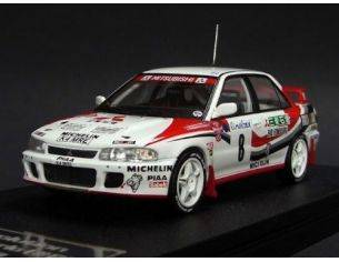Hpi Racing HPI8541 MITSUBISHI LANCER EVOLUTION N.8 4th MONTECARLO 1993 ERIKSSON-PARMAN 1:43 Modellino