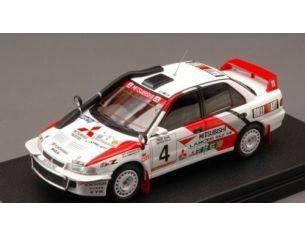 Hpi Racing HPI8544 MITSUBISHI LANCER N.4 2nd SAFARI 1994 SHINOZUKA-KUUKKALA 1:43 Modellino