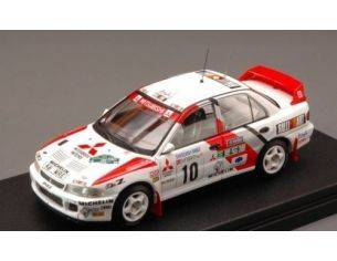 Hpi Racing HPI8547 MITSUBISHI LANCER N.10 WINNER SWEDISH 1995 ERIKSSON-PARMANDER 1:43 Modellino