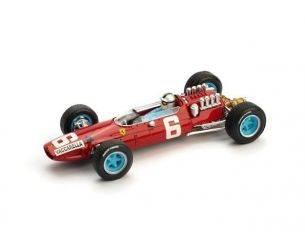 Brumm BM0296CH FERRARI 158 N.VACCARELLA 1965 N.6 12th ITALY GP 1:43 Modellino