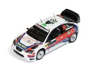 Ixo model RAM390 FORD FOCUS WRC N.20 11th R.IRELAND 2009 1:43 Modellino