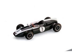 Brumm BM0300 COOPER T 53 J.BRABHAM WORLD CHAMPION 1960 GRAN BRETAGNA GP N.1 1:43 Modellino