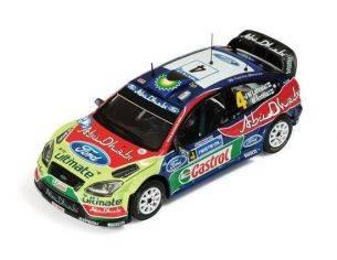 Ixo model RAM447 FORD FOCUS WRC N.4 WINNER FINLAND RALLY 2010 LATVALA-ANTTILA 1:43 Modellino