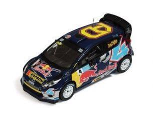 Ixo model RAM465 FORD FIESTA RS WRC N.4 A.DOVIZIOSO BOLOGNA MOTOR SHOW 2011 1:43 Modellino