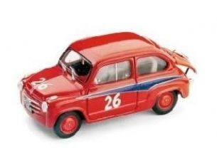 Brumm BM0304 FIAT ABARTH 750 N.26 1st GT750 MILLE MIGLIA  1955 DOMENICO OGNA 1:43 Modellino