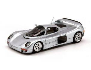 Spark Model S0899 SCHUPPAN 962 CR 1994 SILVER 1:43 Modellino