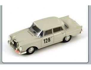 Spark Model S1004 MERCEDES 220 SE N.128 WINNER MONTE CARLO RALLY 1960 SCHOCK/MOLL 1:43 Modellino