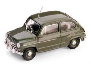 Brumm BM0308 FIAT 600D POLIZIA STRADALE 1960 1:43 Modellino