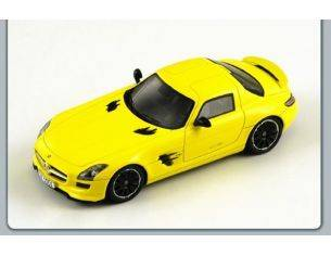 Spark Model S1058 MERCEDES SLS AMG E-CELL 2010 YELLOW 1:43 Modellino