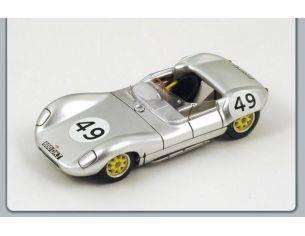 Spark Model S1127 LOLA MK 1 N.49 GOODWOOD 1958 ALLUMINIUM 1:43 Modellino