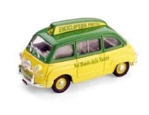 Brumm BM0310 FIAT 600 MULTIPLA ENCICLOPEDIA MOTTA 1956 1:43 Modellino