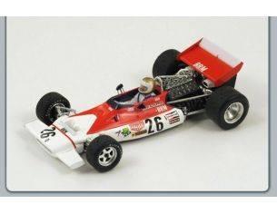 Spark Model S1155 BRM V.SCHUPPAN 1972 N.26 BELGIUM GP 1:43 Modellino