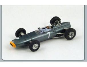 Spark Model S1157 BRM R.GINTHER 1964 N.7 2nd MONACO GP 1:43 Modellino