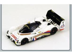 Spark Model S1298 PEUGEOT 905 EV1 TER N.1 2nd LM 1993 1:43 Modellino