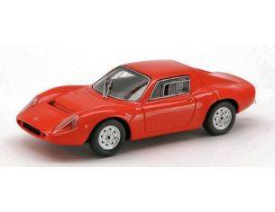 Spark Model S1300 FIAT ABARTH OT 1300 1965 RED 1:43 Modellino