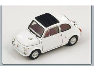 Spark Model S1310 ABARTH 595 SS 1966 WHITE 1:43 Modellino
