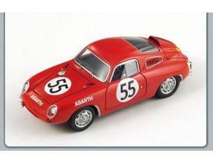 Spark Model S1334 ABARTH 700 S N.55 LE MANS 1961 1:43 Modellino