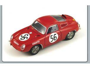 Spark Model S1337 ABARTH 700 S N.56 LE MANS 1961 1:43 Modellino