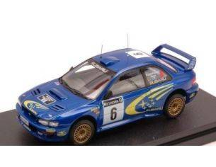 Hpi Racing HPI8601 SUBARU IMPREZA WRC'99 N.6 2nd GREAT BRITAIN 1999 KANKKUNEN-REPO 1:43 Modellino