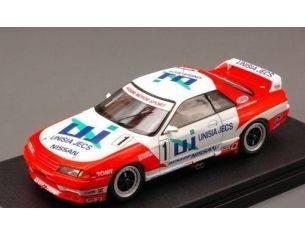 Hpi Racing HPI8610 UNISIA SKYLINE GT-R N.1 JTC SUZUKA 1993 1:43 Modellino