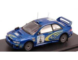Hpi Racing HPI8638 SUBARU IMPREZA WRC'99 N.4 2nd SAFARI 2000  KANKKUNEN-REPO 1:43 Modellino