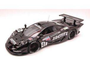 Hpi Racing HPI8864 MC LAREN F1 GTR N.41 28th LM 1998 BSCHER-CAPELLO-PIRRO 1:18 Modellino