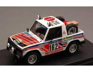 Hpi Racing HPI8878 MITSUBISHI PAJERO N.162 14th PARIS-DAKAR 1983 DEBUSSY-DELAVAL 1:43 Modellino