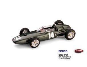 Brumm BM0323 BRM P 57 G.HILL 1962 N.14 WINNER ITALY GP WORLD CHAMPION 1:43 Modellino