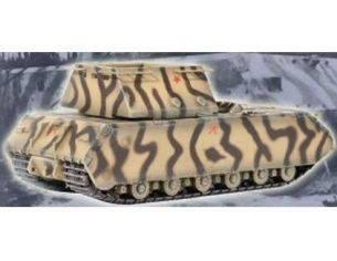 DRAGON ARMOR 60157 MAUS SUPER-HEAVY TANK WEIGHT MOCK-UP TURRET CAMOUFLAGE SCHEME BOBLINGEN 1944 1/72 Modellino
