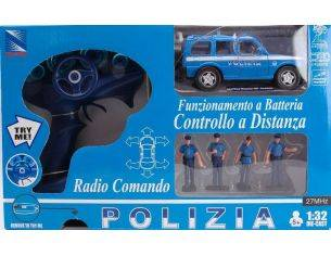 New Ray NY86916 LAND ROVER DISCOV.POLIZIA SET 1:32 Modellino