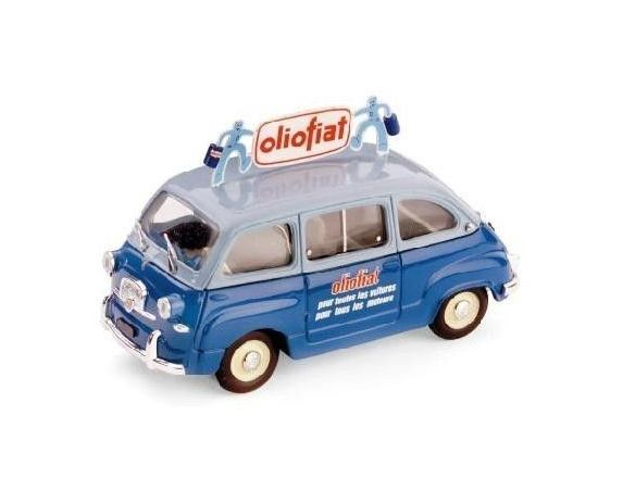 Brumm BM0330 FIAT 600 MULTIPLA 1956 OLIO FIAT 1:43 Modellino