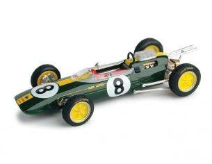 Brumm BM0332 LOTUS 25 J.CLARK 1963 N.8 WINNER ITALY GP WORLD CHAMPION 1:43 Modellino