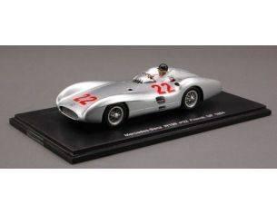 Spark Model S1037 MERCEDES H.HERMANN FRENCH GP'54 1:43 Modellino