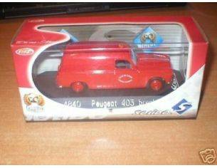 Solido 4840 PEUGEOT 403 BREAK POMPIER 1/43 Modellino