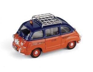 Brumm BM0335 FIAT 600 MULTIPLA ACI MODENA 1956 1:43 Modellino