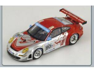 Spark Model S1901 PORSCHE 997 GT 3 RSR N.80 LM'08 1:43 Modellino
