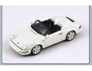 Spark Model S2043 PORSCHE 964 SPEEDSTER 1993 WHITE 1:43 Modellino
