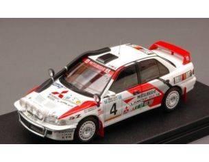 Hpi Racing HPI8589 MITSUBISHI LANCER N.4 2nd SAFARI 1994 SHINOZUKA-KUUKKALA NIGHT VERS.1:43 Modellino
