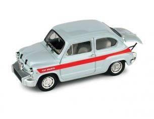 Brumm BM0350 FIAT 850 ABARTH TC CORSA CLIENTI 1966 1:43 Modellino