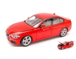 Welly WE4697 BMW 335I 2006 RED 1:18 Modellino