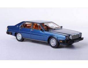 Neo Scale Models NEO44565 MASERATI QUATTROPORTE ROYALE III 1983 BLUE MET.1:43 Modellino