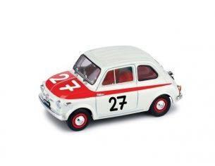 Brumm BM0362 FIAT 500 SPORT N.27 WINNER 12H HOCKENHEIM 1958  1:43 Modellino