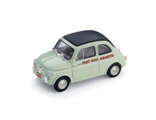 Brumm BM0363 FIAT 500 SPORT ABARTH RECORD DURATA MONZA 1958 1:43 Modellino