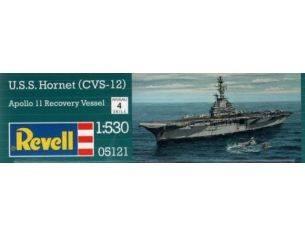 Revell RV5121 U.S.S. HORNET KIT 1:530 Modellino