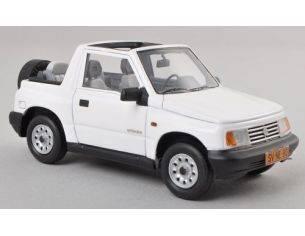 Neo Scale Models NEO44980 SUZUKI VITARA 1.6 JLX CONVERTIBLE 1995 WHITE 1:43 Modellino