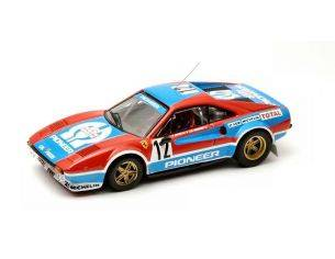 Best Model BT9320 FERRARI 308 GTB N.12 2nd TOUR DE CORSE 1982 J.CL.ANDRUET-BICHE 1:43 Modellino