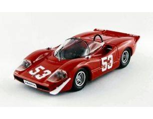 Best Model BT9494 ABARTH 2000 N.25 WINNER 500 KM IMOLA 1969 ORTNER-VAN LENNEP 1:43 Modellino